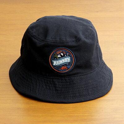 バケットハット帽子メンズレディースブランドベーシックエンチBASIQUENTIリバーアップRIVER-UPワッペンツイルハットカジュアルアメカジアウトドアストリートルードヴィンテージおしゃれネイビー紺色(09-bcwk62933)