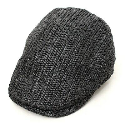 【1つまでメール便OK】ハンチングベーシックエンチBASIQUENTIリバーアップRIVER-UPメンズレディース帽子ブランド麦わら帽子リラックスハンチングストローハットカジュアルアメカジトラッドルードおしゃれ2018年春夏新作(09-bcle70056)