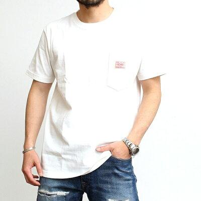 ビッグマイクBIGMIKEサングラスポケットTシャツメンズレディースユニセックスブランドTシャツカットソー胸ポケットポケット付き厚手無地おしゃれユニークカジュアルアメカジワークビンテージブラックキャメルオリーブホワイト(35-102028500)