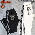 インディアンモトサイクル/ジャージ刺繍パンツ