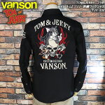バンソン×トムとジェリーコラボ/刺繍ワークシャツ