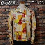 CREAMSODA/クリームソーダ/楽器柄長袖プリントシャツ