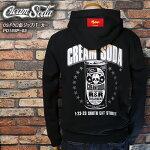 CREAMSODA/クリームソーダ/CSドクロ缶ジップパーカー