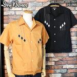 ドライボーンズ/ダイヤ刺繍シャツLozengeOpenShirt