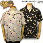 GOODROCKIN'グッドロッキン/半袖ブーメランプリントオープンシャツ