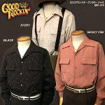 GOODROCKIN'/グッドロッキン/カスリプリントオープンカラーシャツ