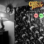 GOODROCKIN'グッドロッキン/アトミックパターンカーテン