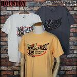 HOUSTONヒューストン/ピグメントプリントTシービーズ