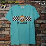 MOONEYESムーンアイズ/GowithMOONTシャツ