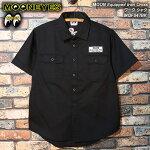 MOONEYESムーンアイズ/MOONEquippedIronCrossワークシャツ