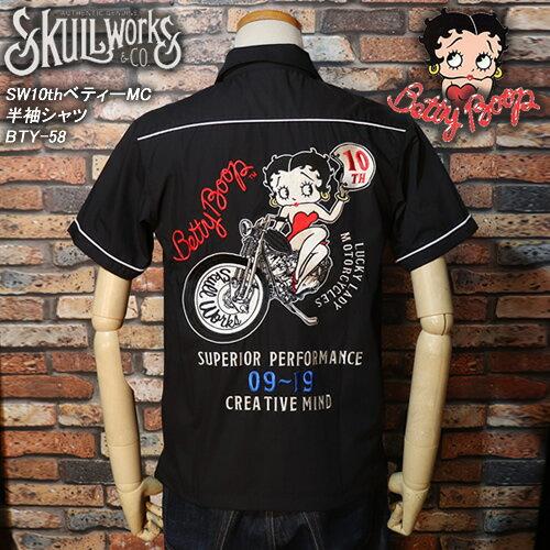 トップス, カジュアルシャツ SKULL WORKSSW 10thMCBTY-58