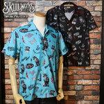 SKULLWORKS/スカルワークス/10周年アロハシャツ
