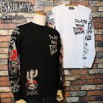 SKULLWORKS/スカルワークス/タトゥーロンT