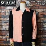 STYLEEYES/スタイルアイズ/クレイジーパターンボウリングシャツ