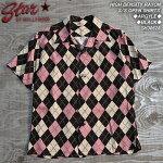 スターオブハリウッド/アーガイル半袖オープンシャツ