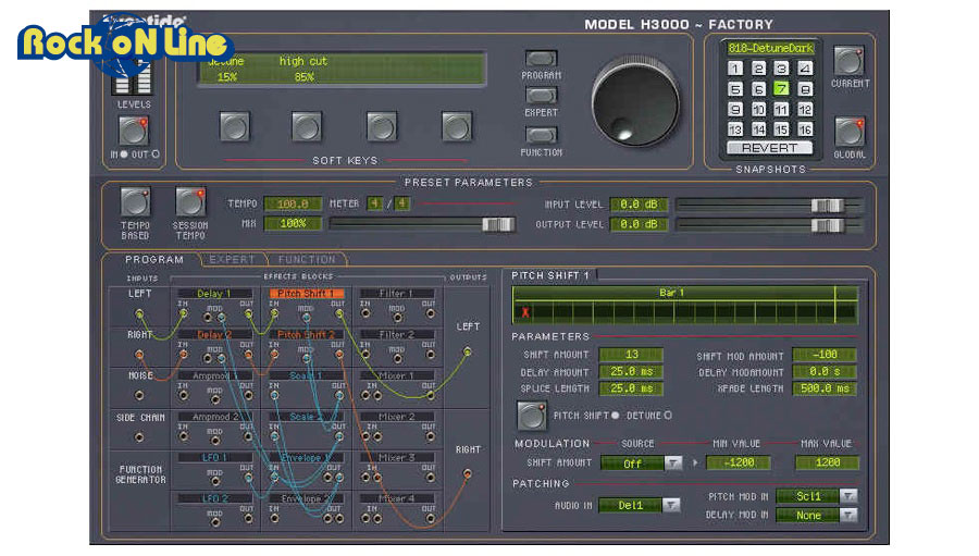 PCソフト, 音楽制作 Eventide() H3000 Factory NativeDTM