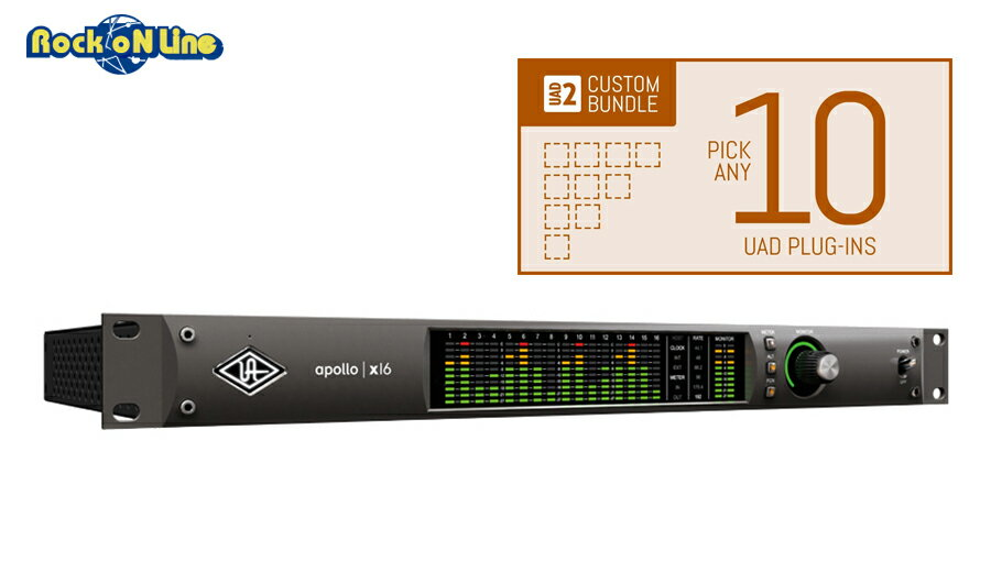 DAW・DTM・レコーダー, オーディオインターフェイス Universal Audio() Apollo X16 Custom 10 Upgrade DTM