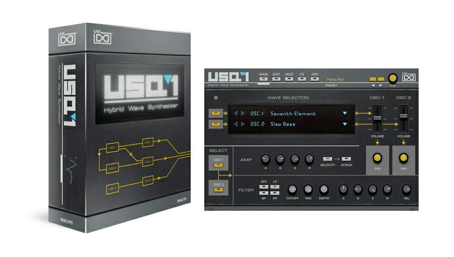 PCソフト, 音楽制作 UVI() USQ-1PDFDTM