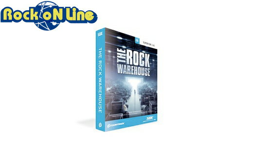 PCソフト, 音楽制作 TOONTRACK() SDX THE ROCK WAREHOUSEDTM