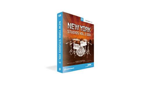 PCソフト, 音楽制作 TOONTRACK() SDX NEW YORK STUDIO VOL.3DTM