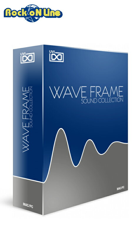 PCソフト, 音楽制作 UVI() WaveFrame Sound CollectionPDFDTM