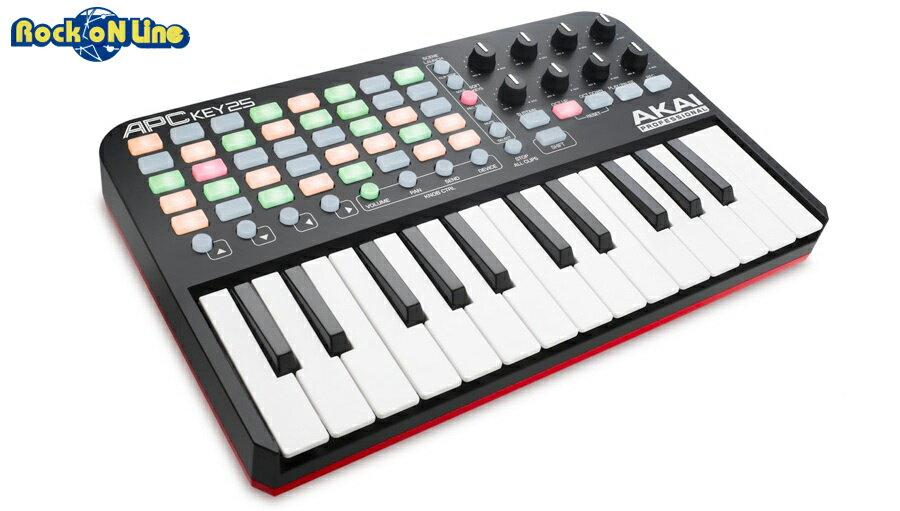 DAW・DTM・レコーダー, MIDIキーボード AKAI() APC KEY 25MIDI