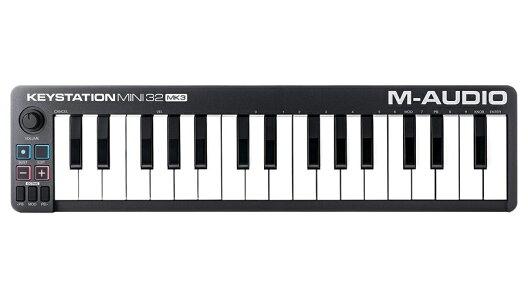 【クーポン配布中!】M-AUDIO(エムオーディオ)KeystationMini32MK3【MIDIキーボード】
