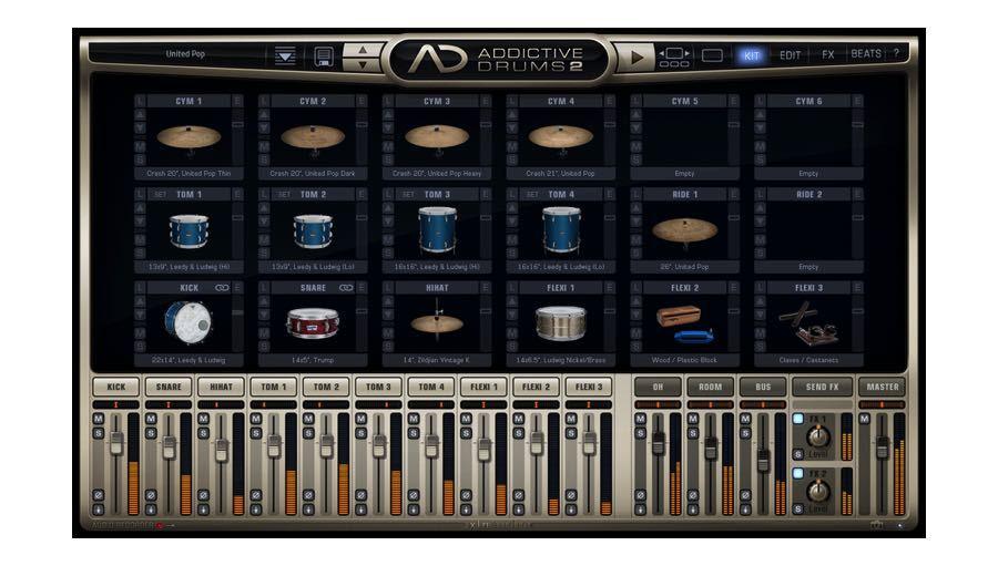 【クーポン配布中!】xlnaudio(エックスエルエヌオーディオ) Addictive Drums 2 Custom 簡易パッケージ版【台数限定特価!】【DTM】【ドラム音源】
