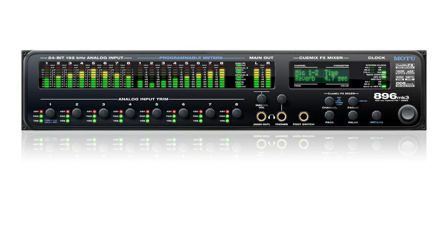 DAW・DTM・レコーダー, オーディオインターフェイス MOTU() 896 mk3 HybridDTM