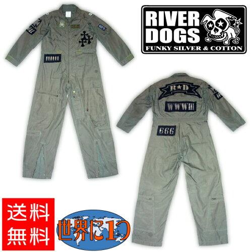 """★ゆうパック便送料無料★ RIVER DOGS """"世界に1つだけの つなぎ"""" []"""