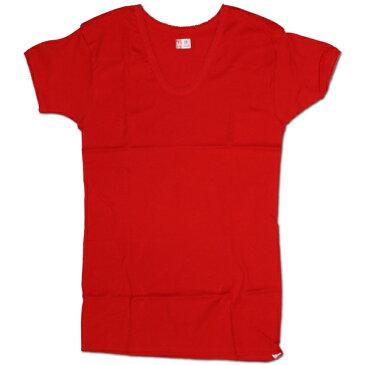 元祖赤パン以心伝心 婦人用 3分袖インナー [赤] 7850 サイズ:LL 日本製/赤い下着/赤い肌着/健康祈願/アンダーウエア/申年肌着/女性用/レディース/レッド/還暦祝い