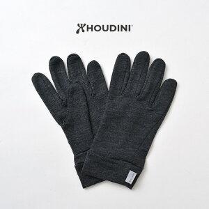 HOUDINI(フディーニ/フーディニ) ウール ライナー グローブ / メリノウール / インナーグローブ / メンズ / アウトドア
