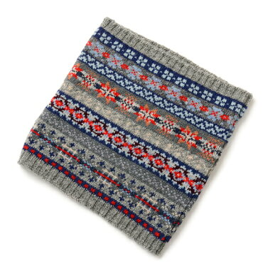 All Over Fair Isle Neck Warmer NJMS0355