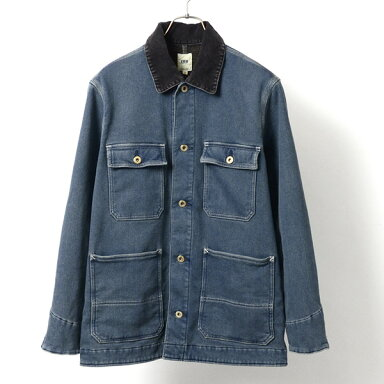 FOB Factory Denim Work Jacket F2385: Washed