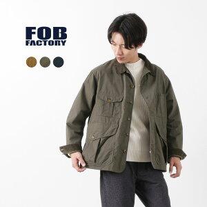 FOB FACTORY(FOBファクトリー) F2386 ハンティング ジャケット / メンズ / オーガニックコットン / チノクロス / 日本製 / HUNTING JK