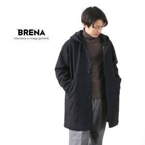 【20%OFF】BRENA(ブレナ) モッズコート イタリー ファイネスト フランネル / ウール / メンズ / 日本製 / MODS【セール】