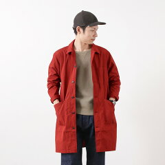 FOB Factory French Shirt Coat F2395: Red