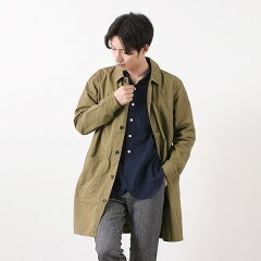 FOB Factory French Shirt Coat F2395: Khaki