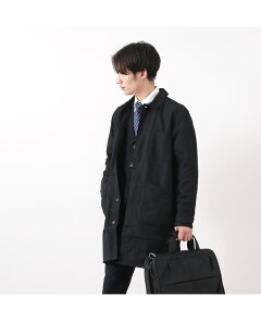 FOB Factory French Shirt Coat F2395: Black