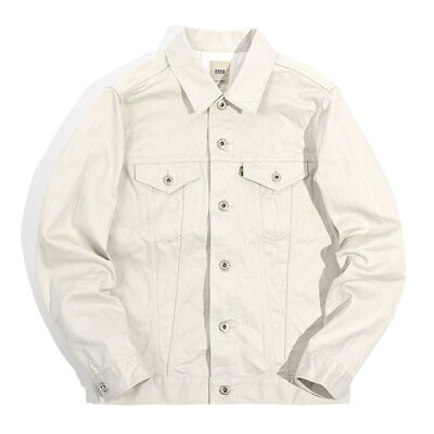 FOB Factory Pique 3rd Jacket F2366: Ivory
