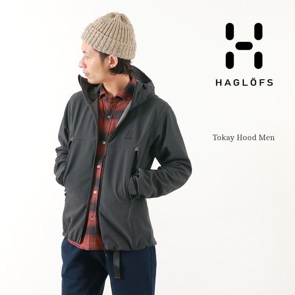 【期間限定ポイント10倍】HAGLOFS(ホグロフス) トーカイフード / ソフトシェル フーデッド ジャケット / アウトドア / メンズ / TOKAY HOOD MEN