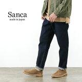 SANCA(サンカ) 15.5オンス デニム テーパード 5Pパンツ / メンズ / セルヴィッチ ジーンズ / 日本製 岡山 / 15.5oz DENIM TAPERD 5P PANTS / S20SPT01 / rnd / pnt2