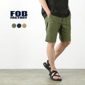 FOB FACTORY(FOBファクトリー) F4161 ベイカーショーツ / ベーカー / ショートパンツ / ハーフパンツ / メンズ 日本製 / BAKER SHORTS