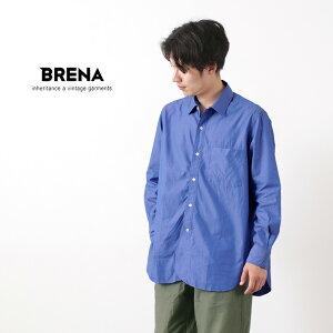 BRENA(ブレナ) フレンチ ピンオックス ハーフプラケット チェンジカラーシャツ / 長袖 無地 / メンズ / 日本製 / R.A.F / FRENCH PIN OX