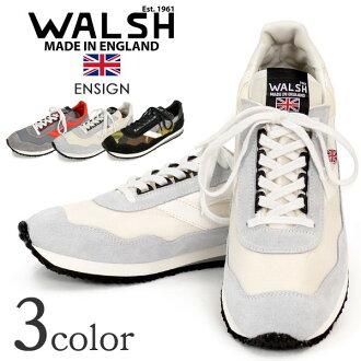 沃爾什 (Walsh) 少尉運動鞋 / 復古鞋和麂皮絨尼龍 / 男裝