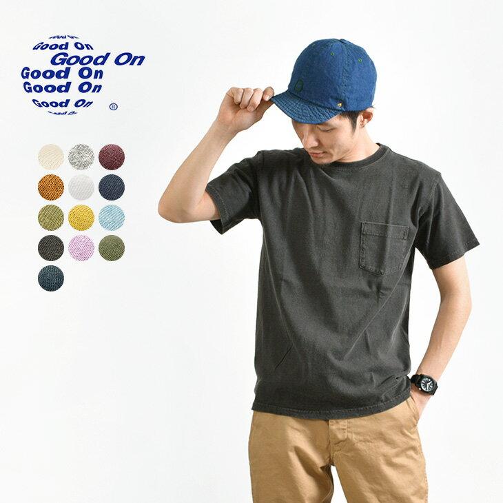 トップス, Tシャツ・カットソー GOOD ON T GOST0903 SS POCKET TEE