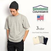 ポイント COLUMBIAKNIT コロンビア フレンチ スウェット シルエット Tシャツ アメリカ