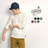 GOHEMP(ゴーヘンプ) ヘンプコットン ベーシック フットボール Tシャツ / 7分袖 / メンズ / BASIC FOOTBALL TEE