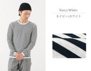 RE MADE IN TOKYO JAPAN(アールイー) パーフェクトインナー ロングスリーブ ボーダー Tシャツ / クルーネック / 長袖 / メンズ / 日本製 / PERFECT INNER BORDER T-SHIRT