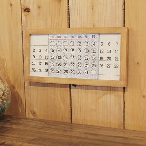 ウッデンパーペチュアルカレンダーミニ